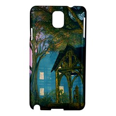 Background Forest Trees Nature Samsung Galaxy Note 3 N9005 Hardshell Case