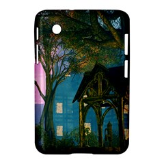 Background Forest Trees Nature Samsung Galaxy Tab 2 (7 ) P3100 Hardshell Case