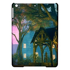 Background Forest Trees Nature Ipad Air Hardshell Cases
