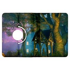 Background Forest Trees Nature Kindle Fire Hdx Flip 360 Case