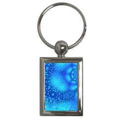 Bokeh Background Light Reflections Key Chains (rectangle)