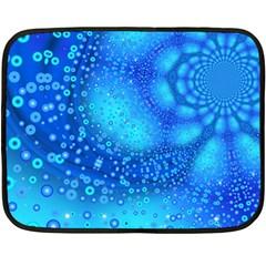 Bokeh Background Light Reflections Fleece Blanket (mini)