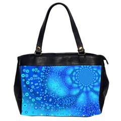 Bokeh Background Light Reflections Office Handbags (2 Sides)