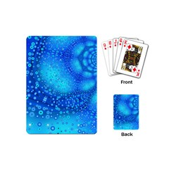 Bokeh Background Light Reflections Playing Cards (mini)