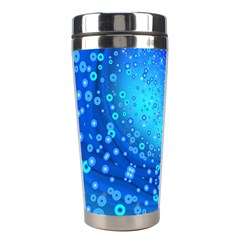 Bokeh Background Light Reflections Stainless Steel Travel Tumblers