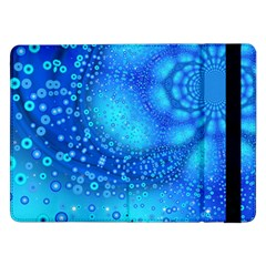 Bokeh Background Light Reflections Samsung Galaxy Tab Pro 12 2  Flip Case