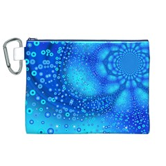 Bokeh Background Light Reflections Canvas Cosmetic Bag (xl)