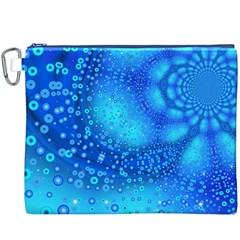 Bokeh Background Light Reflections Canvas Cosmetic Bag (xxxl)