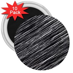 Background Structure Pattern 3  Magnets (10 Pack)