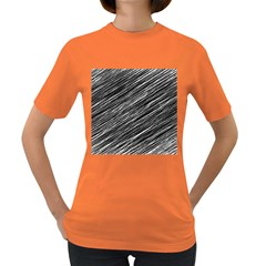 Background Structure Pattern Women s Dark T Shirt
