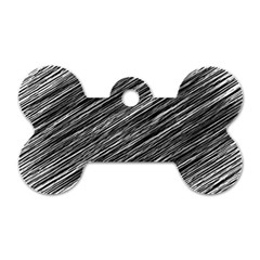 Background Structure Pattern Dog Tag Bone (two Sides)