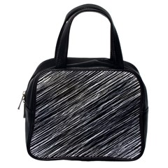 Background Structure Pattern Classic Handbags (one Side)