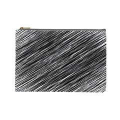 Background Structure Pattern Cosmetic Bag (large)