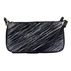 Background Structure Pattern Shoulder Clutch Bags