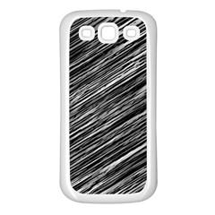 Background Structure Pattern Samsung Galaxy S3 Back Case (white)