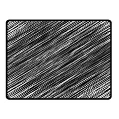 Background Structure Pattern Double Sided Fleece Blanket (small)