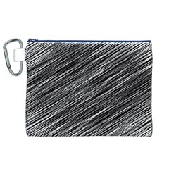 Background Structure Pattern Canvas Cosmetic Bag (xl)