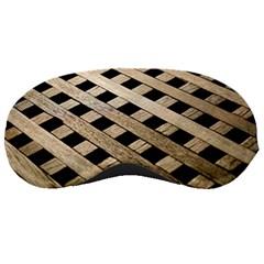 Texture Wood Flooring Brown Macro Sleeping Masks