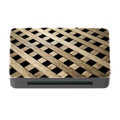 Texture Wood Flooring Brown Macro Memory Card Reader With Cf