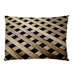 Texture Wood Flooring Brown Macro Pillow Case (two Sides)