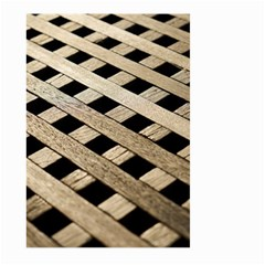 Texture Wood Flooring Brown Macro Large Garden Flag (two Sides)