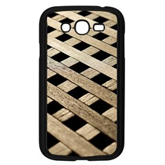 Texture Wood Flooring Brown Macro Samsung Galaxy Grand Duos I9082 Case (black)