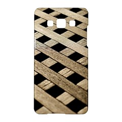 Texture Wood Flooring Brown Macro Samsung Galaxy A5 Hardshell Case