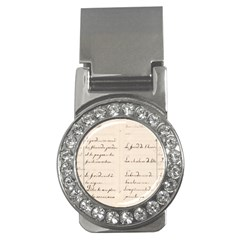 German French Lecture Writing Money Clips (cz)