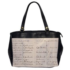 German French Lecture Writing Office Handbags