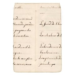 German French Lecture Writing Flap Covers (s)