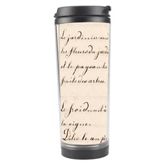 German French Lecture Writing Travel Tumbler