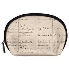 German French Lecture Writing Accessory Pouches (large)