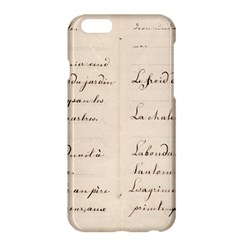 German French Lecture Writing Apple Iphone 6 Plus/6s Plus Hardshell Case