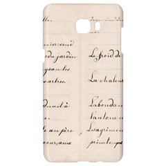 German French Lecture Writing Samsung C9 Pro Hardshell Case