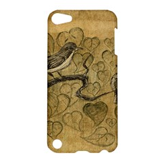 Birds Figure Old Brown Apple Ipod Touch 5 Hardshell Case