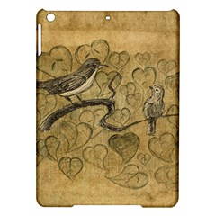 Birds Figure Old Brown Ipad Air Hardshell Cases