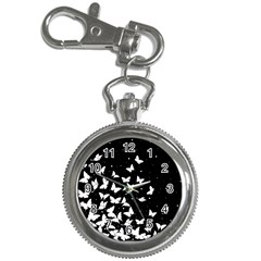 Butterfly Pattern Key Chain Watches
