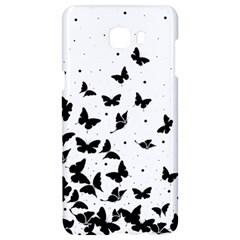 Butterfly Pattern Samsung C9 Pro Hardshell Case