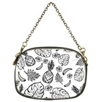 Tropical pattern Chain Purses (Two Sides)  Back