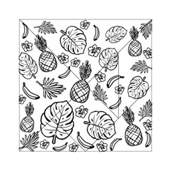 Tropical Pattern Acrylic Tangram Puzzle (6  X 6 )