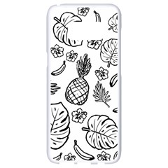 Tropical Pattern Samsung Galaxy S8 White Seamless Case