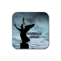 Berlin Rubber Square Coaster (4 Pack)