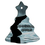 Berlin Christmas Tree Ornament (Two Sides) Front