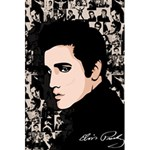 Elvis Presley 5.5  x 8.5  Notebooks Back Cover