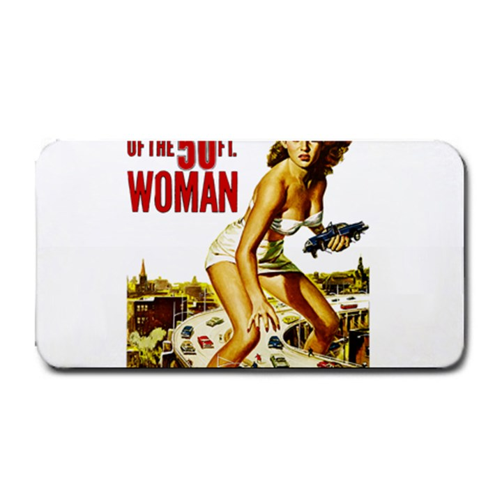 Attack of the 50 ft woman Medium Bar Mats