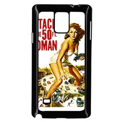 Attack Of The 50 Ft Woman Samsung Galaxy Note 4 Case (black)