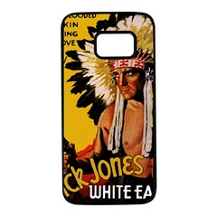 White Eagle Samsung Galaxy S7 Black Seamless Case