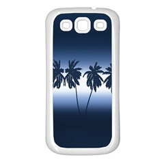 Tropical Sunset Samsung Galaxy S3 Back Case (white)