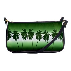Tropical Sunset Shoulder Clutch Bags
