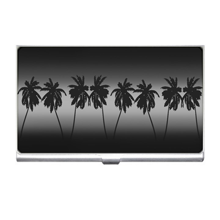 Tropical sunset Business Card Holders